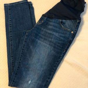 Maternity Jeans! Old Navy Skinny Full Panel